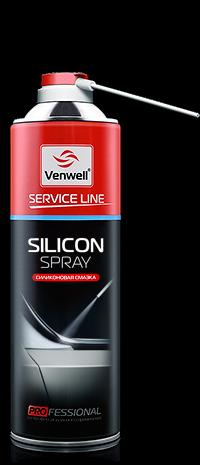 Купить Venwell Silicon spray силиконовая смазка, аэрозоль